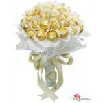 Букет из конфет свадебный