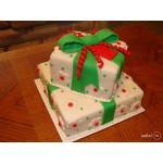 Н - 14 Торт новогдний подарок