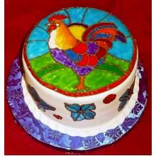 НТ 02 Торт питух разноцветный