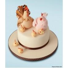 НТ 034 Торт с питухом и курицей