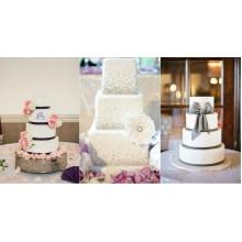 БСВ 554 Торты свадебные элегантные