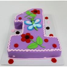 ДТ 036 Торт для девочек на годик