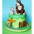 ДТ 015 Торт Маша и Медведь