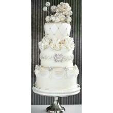 СВ 8749 Тор белоснежный свадебный