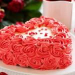 РМ 074 Торт в виде сердца без мастики
