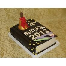 ШТ 1 Торт на выпускной в виде книги