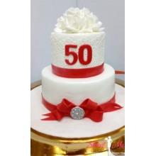 Торт на юбилей для женщины