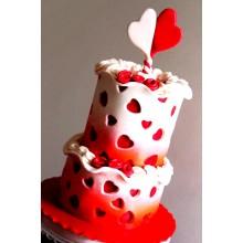 РМ 014 Торт для влюбленных сердце