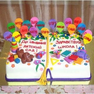 ШТ 6 Торт для выпускного в детском саду