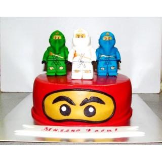 ДТ 019 Торт Лего Ниндзя