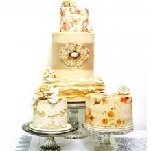 БСВ 0368 Элитные свадебные торты от дизайнеров