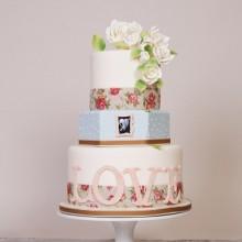 СВ 36 Торт для романтической свадьбы