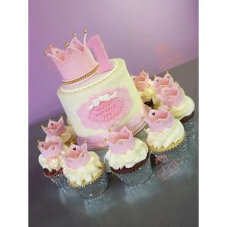 Торт на годик королевский