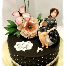 РМ 95 Стильный торт для стильной женщины