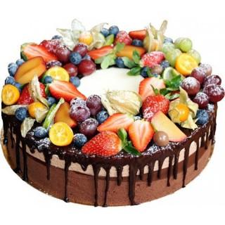 ФРТ 05 Торт шоколадно-фруктовый