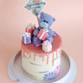 ДТ 016 торт мишка Тед