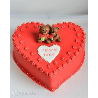 РМ 022 Торт на день святого Валентина