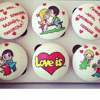 МФ 541 Маффины love is