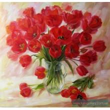 """КР 5 Картина """"Тюльпаны в взе"""""""