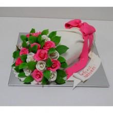 РМ 05 Торт букет цветов на 8 марта