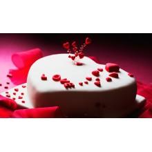 Рм 096 Торт на день святого Валентина