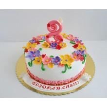 РМ 4 Торт для женщин на 8 марта