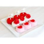 МФ 023 Пирожные с сердечками на день святого Валентина