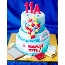 Торт на выпускной 11ый класс