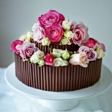 Торт Розы на 8 марта