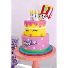 Торт разноцветная вкусняшка для детей