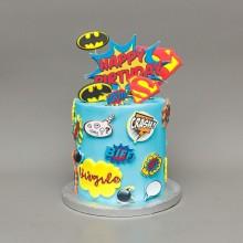 Торт для мальчика все супергерои