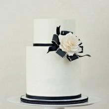 Свадебный торт без излишеств