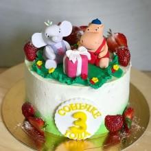 Торт для детей Тима Тома