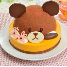 Торт 3Д мишка