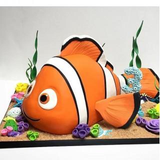 3Д торт в виде рибы
