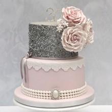 Торт на юбилей девушке