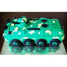 Торт танк на 23 февраля