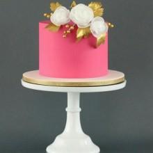 Торт свадебный скромный и красивый