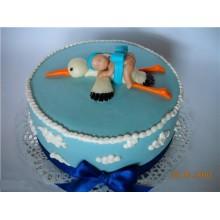 СМ 1 Торт аист с ребеноком