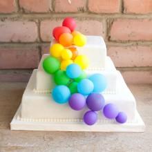 ПР 16 торт праздничные шарики