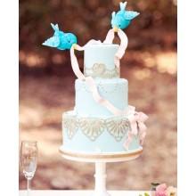 ПР 41 Торт трогательные птенчики