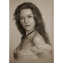 КР1 Портрет на заказ , (карандаш А4)