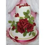 СВ 021 Торт роскошные розы