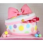 ДТ 69 Торт шкатулка для маленькой девочки