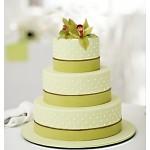 Св 299 Торт многоярусный благородно-зеленый
