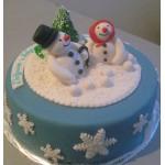 Н - 13 Торт снеговик