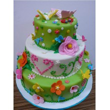 РМ 96 Торт развеселые цветы