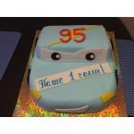 ДТ 205 Торт тачка голубая