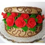 РМ 44 Торт шкатулка с розами