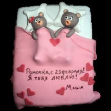 РМ 410 Торт мишки в постельи